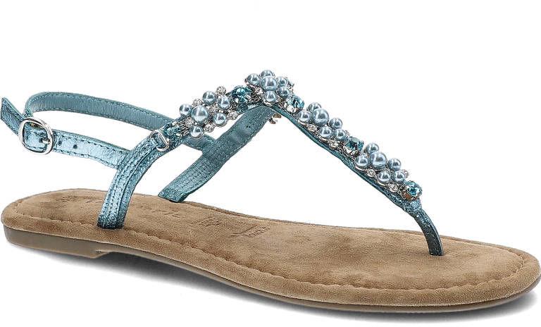 Sandały TAMARIS 1-28152-22 831 Turquoise Met.