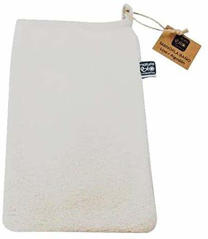 Naturabio Rękawica do mycia lnu/bawełny 100 g