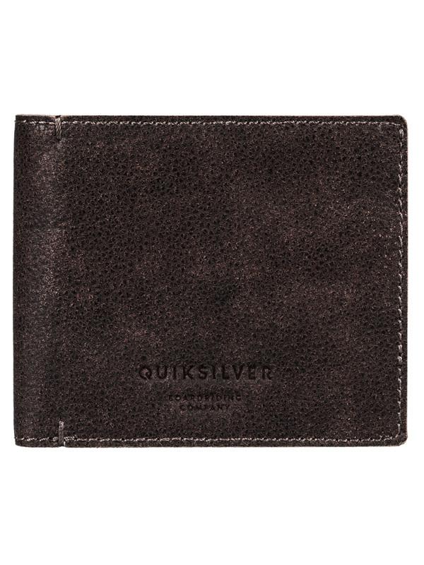 Quiksilver MACKII PLUS black mężczyzna luksusowy portfel - L