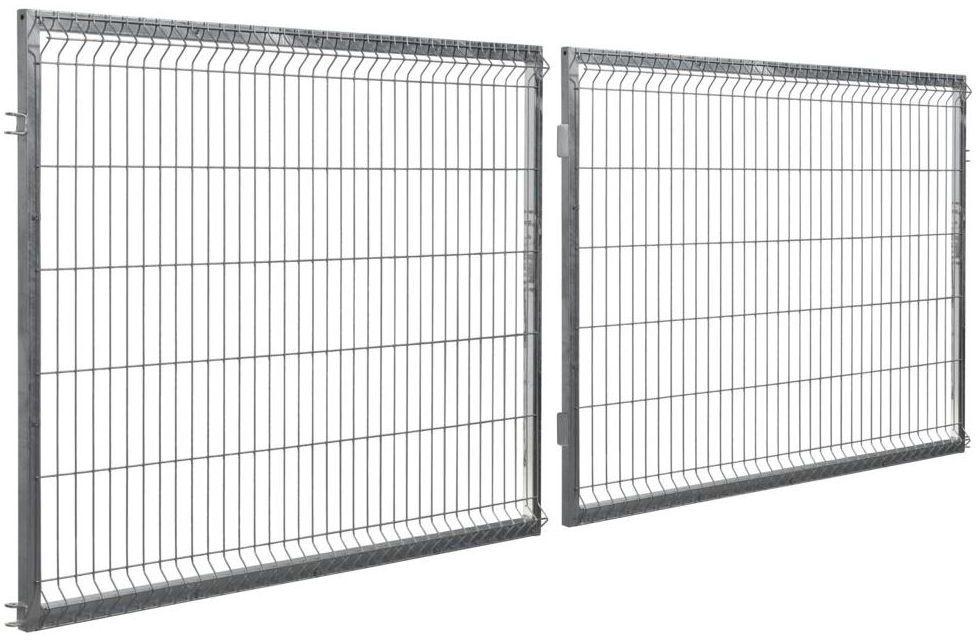 Brama dwuskrzydłowa STARK 400 x 120 cm ocynk POLBRAM