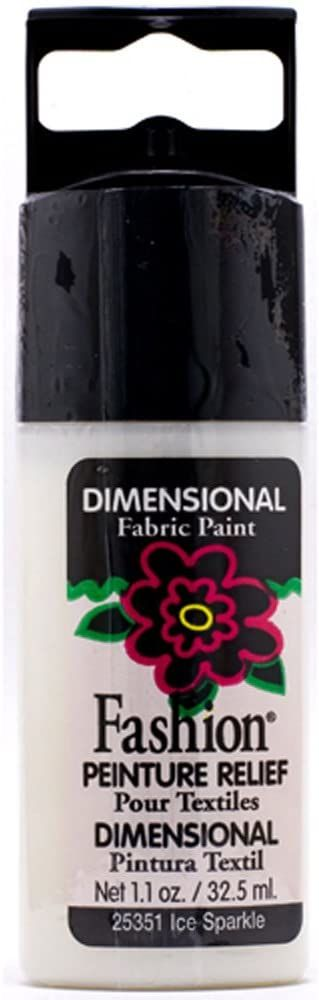 Mod Podge Fashion Fabrics kolorowy błyszczący EIS, materiał syntetyczny, wielokolorowy, 11,5 x 3,3 x 2 cm