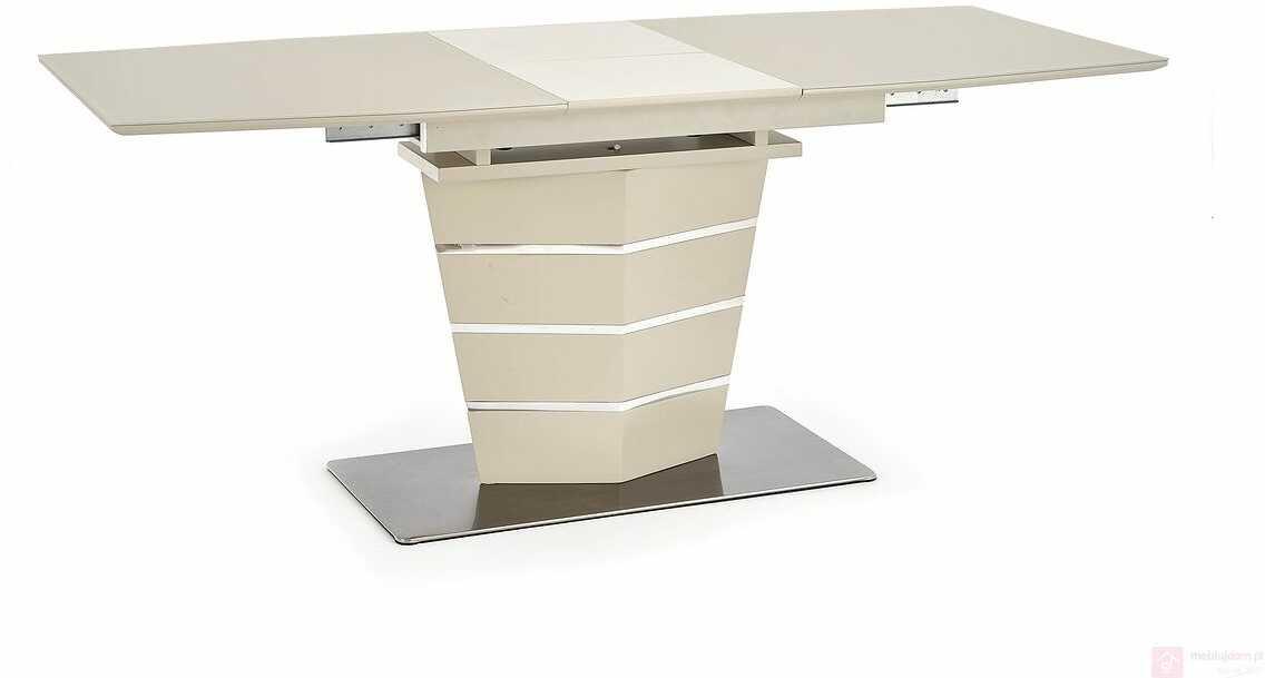 Stół SORENTO Halmar 80x140-180 cm, Beż