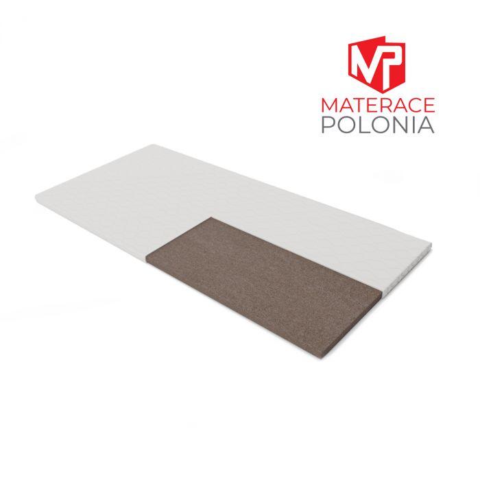 materac nawierzchniowy ŻUBR MateracePolonia 160x200 H4 + 2 lat gwarancji