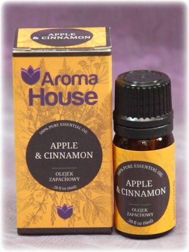 APPLE CINNAMON - Olejek zapachowy Aroma House 10 ml