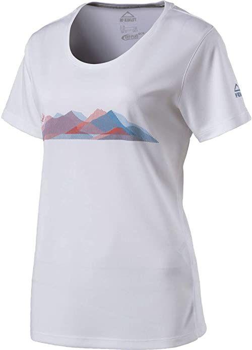 McKinley damska koszulka Raffa biały Size 36