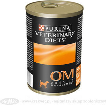 PURINA Veterinary PVD OM Obesity Management 400g puszka