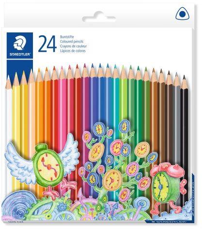 Kredki ołówkowe STAEDTLER Noris Club Triplus 24 kolory 1270 C24