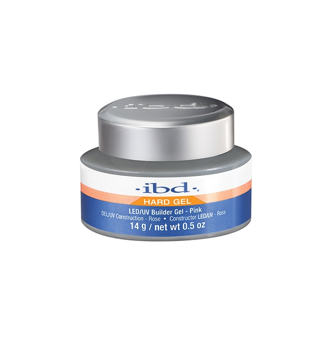 IBD LED/UV BUILDER GEL 14G PINK - BUILDER PINK 14G