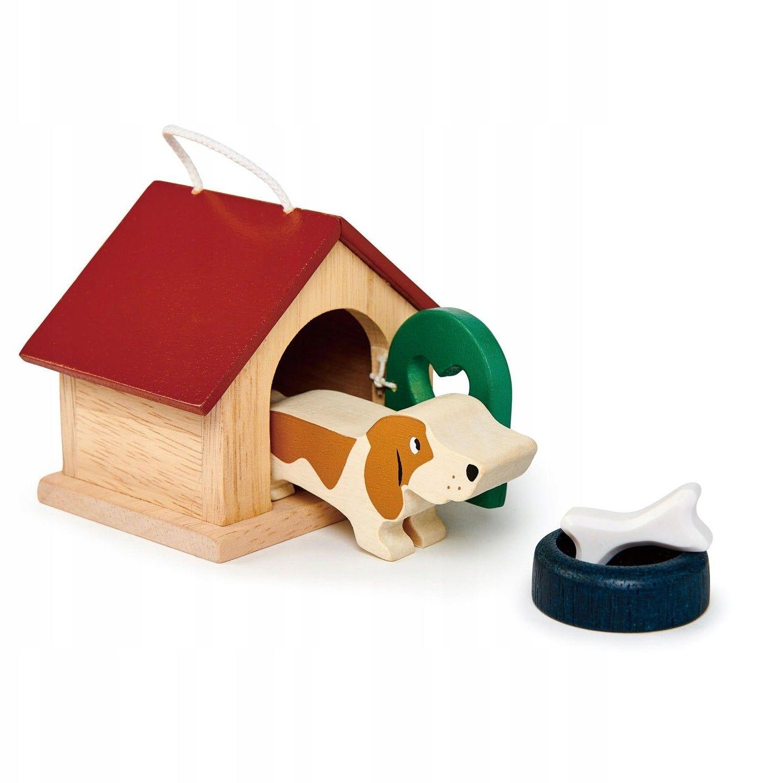 Tender Leaf Toys - drewniane figurki do zabawy - pieski