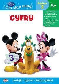 Disney ucz się z nami.Klub Przyjaciół..Cyfry - praca zbiorowa