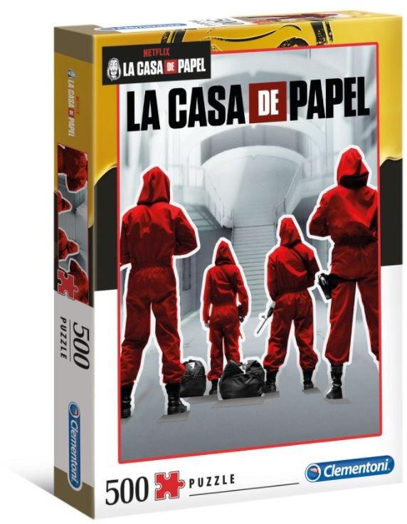 Puzzle 500 elementów La Casa De Papel