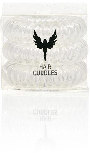 HH Simonsen Hair Bobble Clear Gumki do włosów 3 szt.