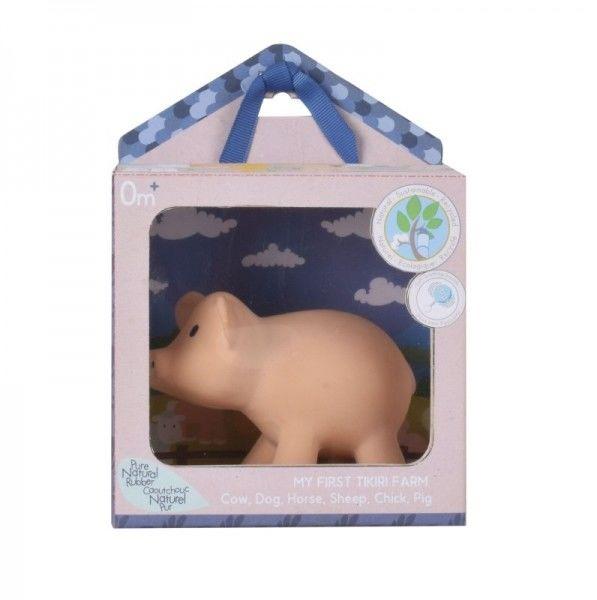 Gryzak Zabawka Świnka Farma w Opakowaniu