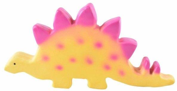 Tikiri - Zabawka Gryzak Dinozaur Baby Stegosaurus (stego)