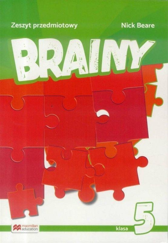 Brainy 5 Zeszyt do języka angielskiego MACMILLAN ZAKŁADKA DO KSIĄŻEK GRATIS DO KAŻDEGO ZAMÓWIENIA