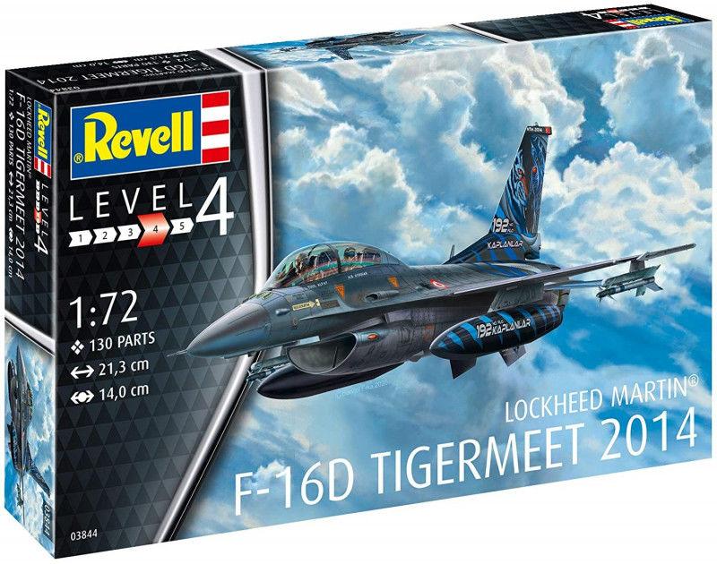 Model do sklejania F-16D Fighting Falcon