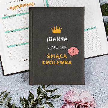 Śpiąca królewna - Planer Książkowy A5
