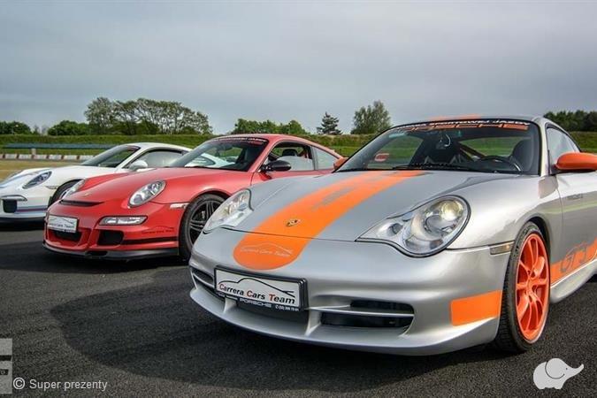 Jazda Porsche 911 (996) GT3 Mk. II Tor Poznań