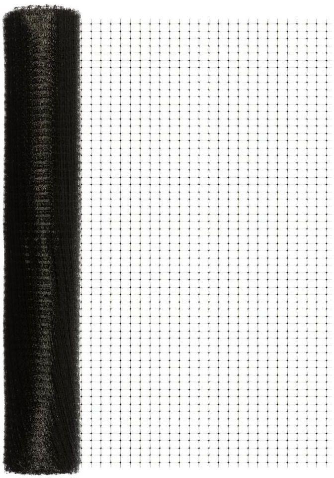 Siatka plastikowa na krety 1 x 50 m czarna SKN BIS