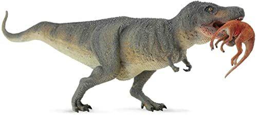 Dinozaur tyranozaur rex z ofiara