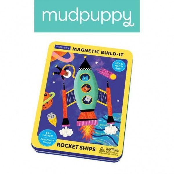 Mudpuppy - Magnetyczne Konstrukcje Rakiety Kosmiczne 4+