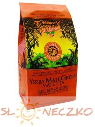Yerba mate Green Mas Energia Guarana 200 g Oranżada