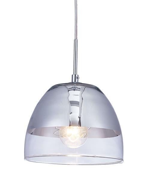 Lumina Deco Arteni nowoczesna chromowana lampa wisząca