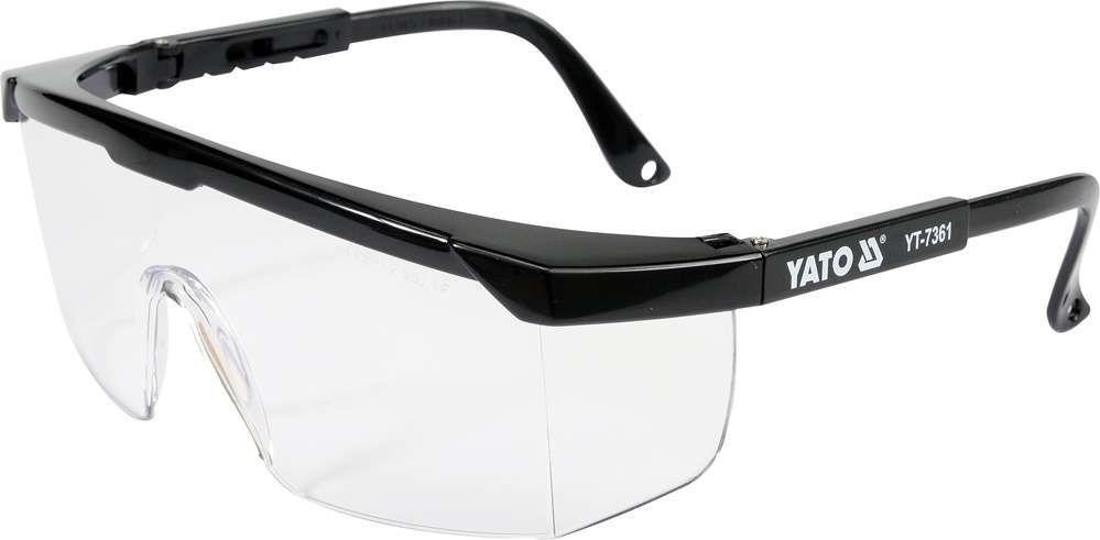 Okulary ochronne bezbarwne Yato YT-7361 - ZYSKAJ RABAT 30 ZŁ