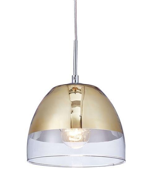 Lumina Deco Arteni nowoczesna złota lampa wisząca