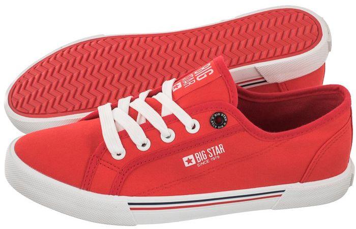 Tenisówki Big Star Czerwone HH274061 (BI330-e)