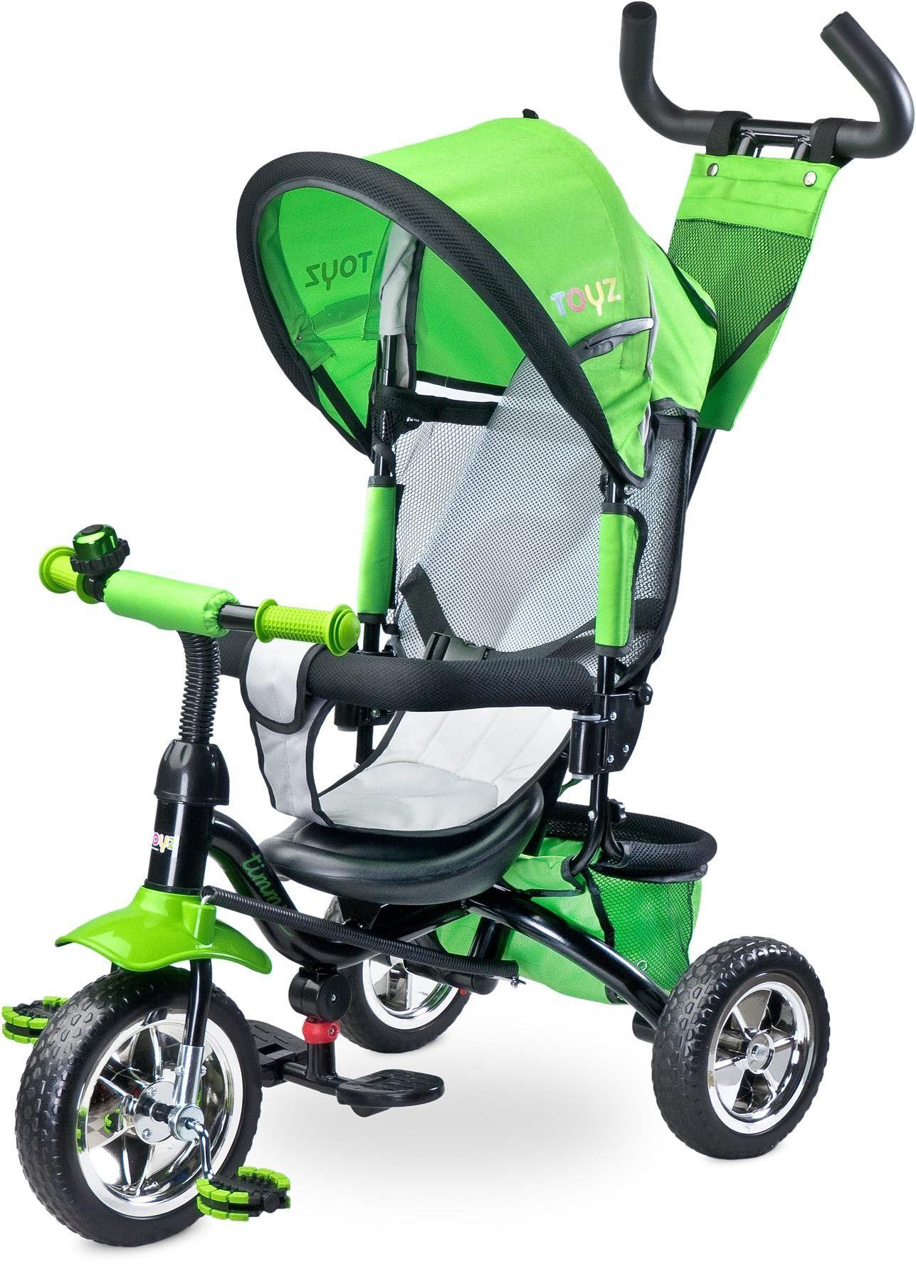 Caretero Timmy Toyz rowerek green
