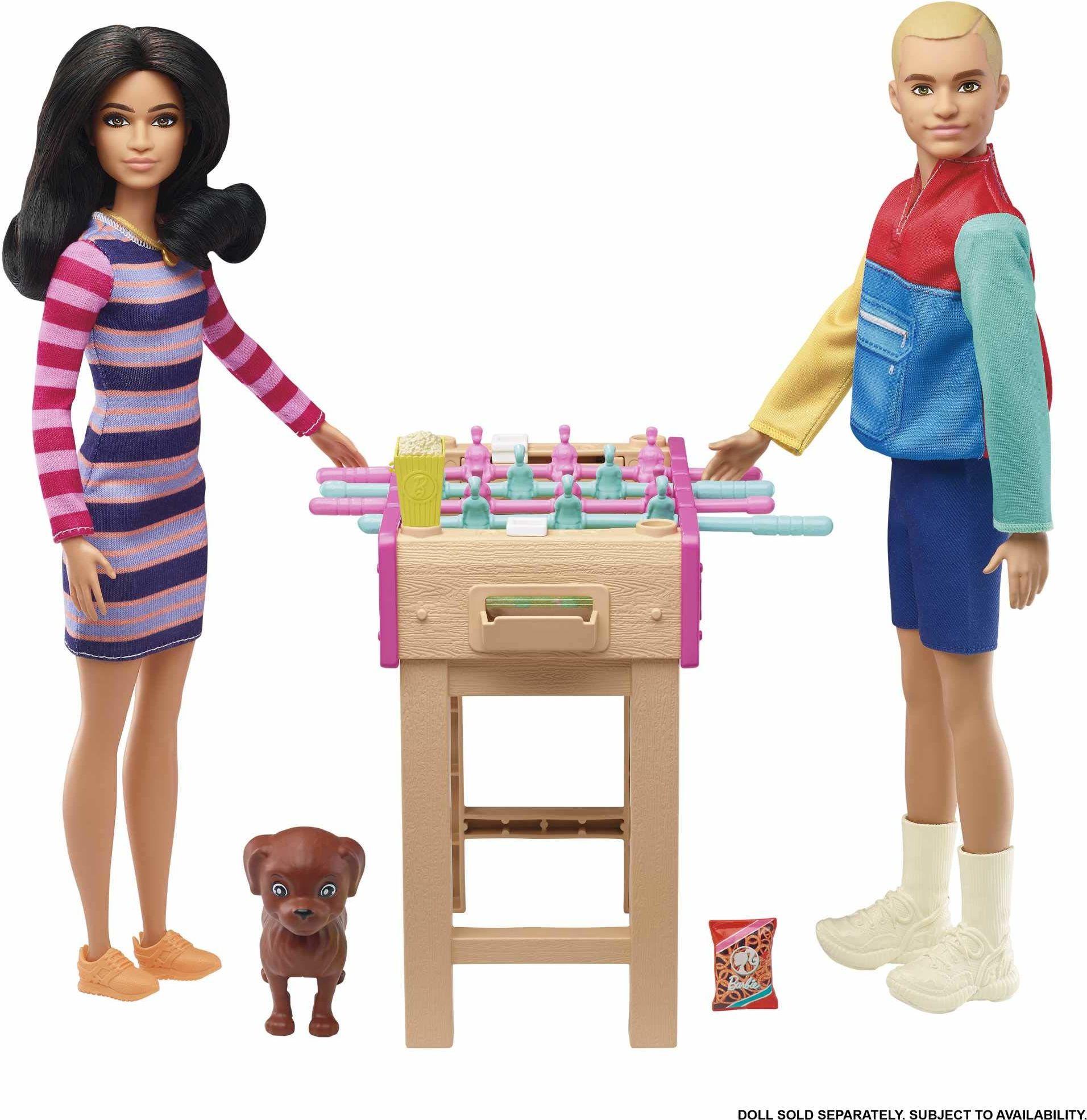 Barbie Mini zestaw do zabawy ze zwierzętami