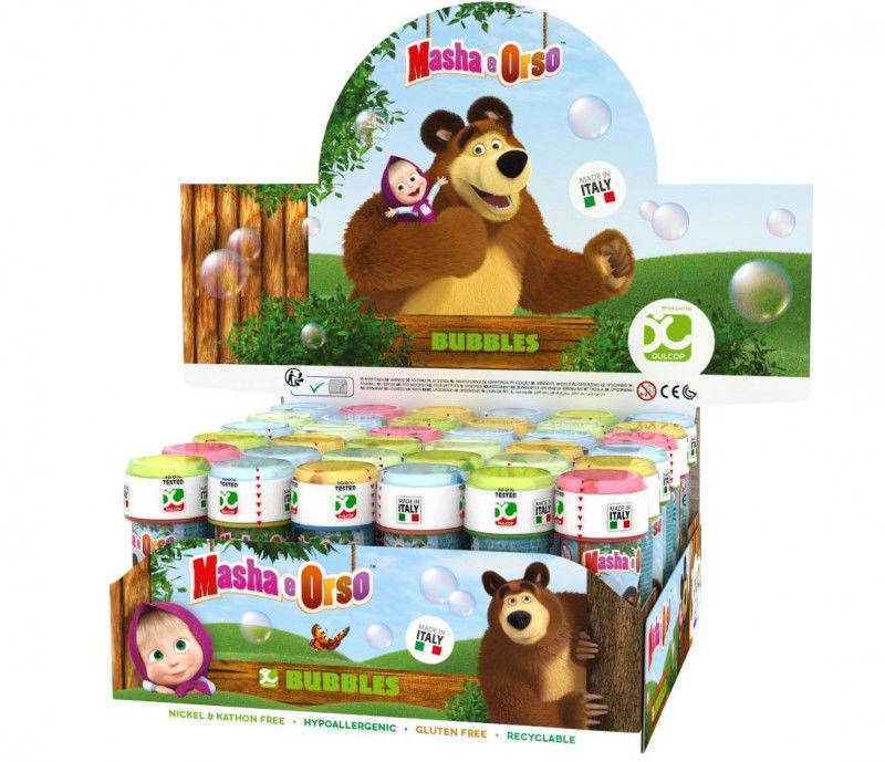Bańki 60 ml - Masza i Niedźwiedź display 36 sztuk