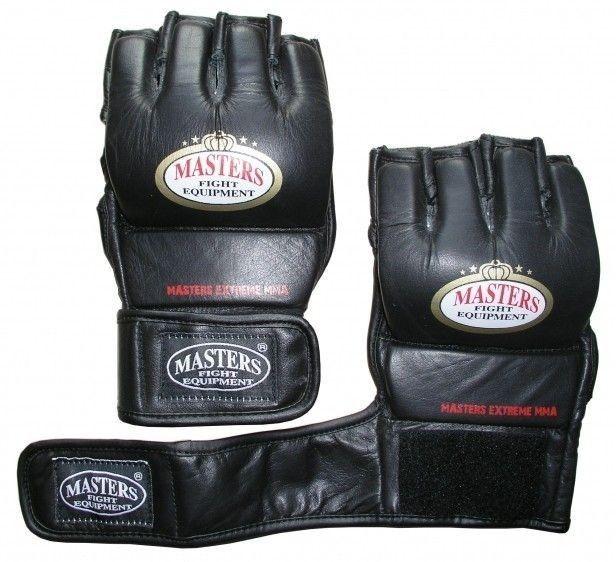 Rękawice MMA Masters Phantom czarne Rozmiar odzieży: L/XL