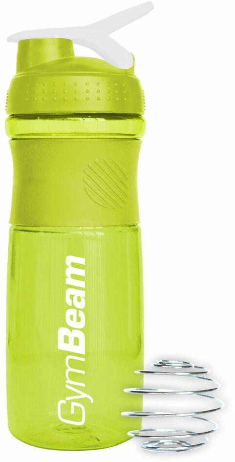 GymBeam Szejker Sportmixer Green White 760 ml