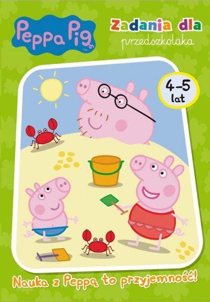 Świnka Peppa Zadania dla przedszkolaka 4-5 lat Nauka z Peppą to przyjemność