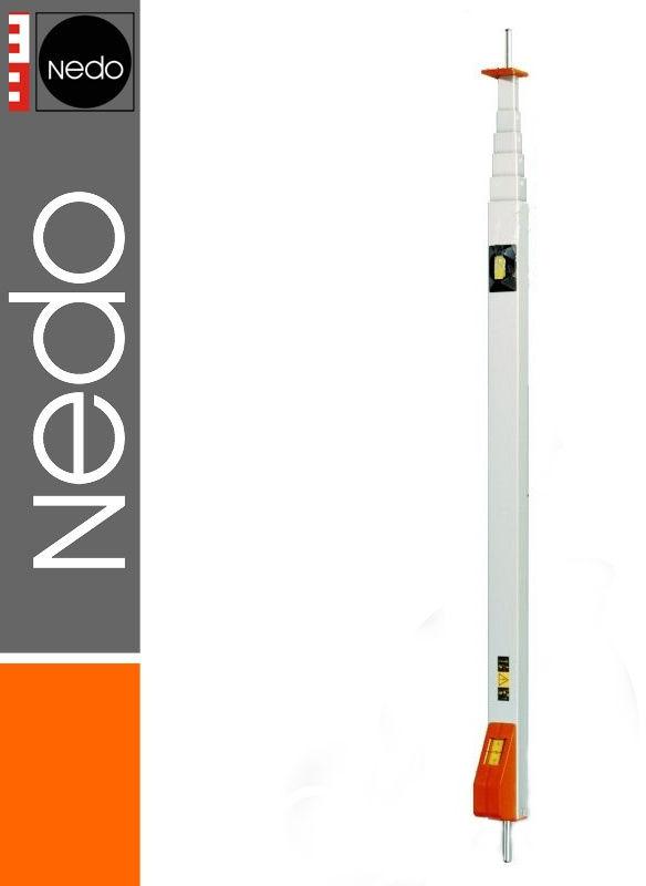 Przymiar teleskopowy z trzpieniem + pokrowiec 1,17-5,10m mEssfix NEDO