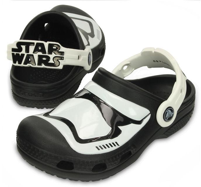 Klapki dziecięce CROCS CC Stormtrooper Clog 20353190H