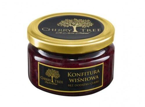 Konfitura wiśniowa bez dodatku cukru Cherry Tree 235g