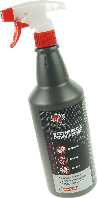 640 Środek płyn do dezynfekcji powierzchni 1L