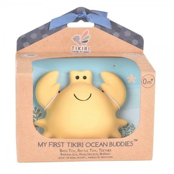 Tikiri - Gryzak Zabawka Krab Ocean w Pudełku