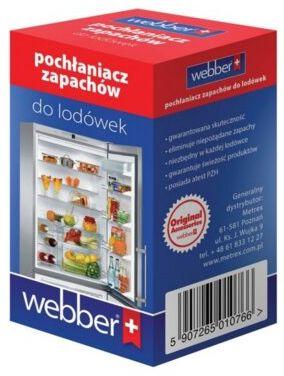 Pochłaniacz zapachów do lodówki WEBBER P2