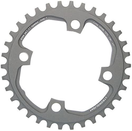 rowerowe; szary; 2286579401; 1x11; łańcuchowa; otwór; 94; sram; mm; zębatka; 3700223717149; części