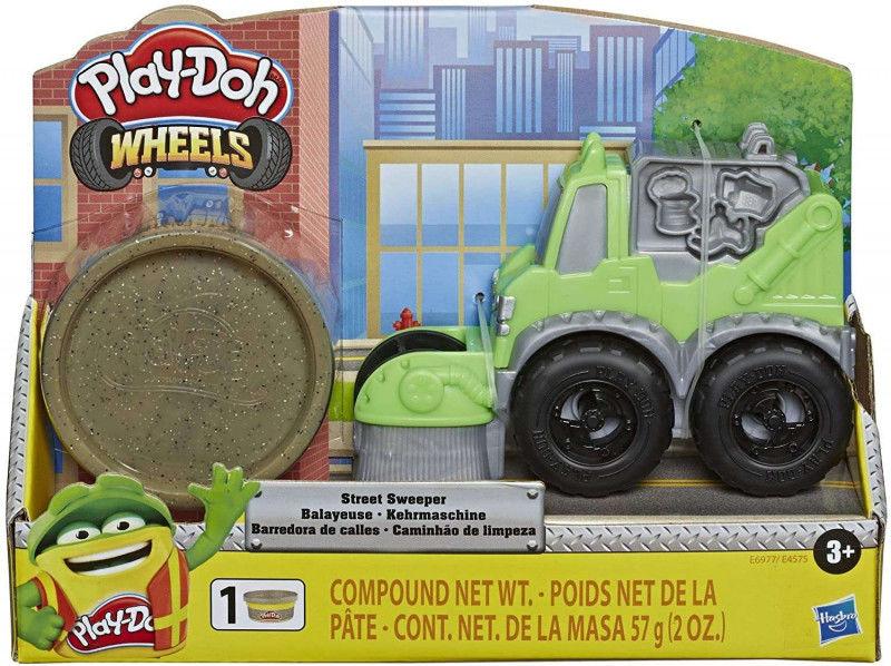 Masa plastyczna Mini Pojazdy Zamiatarka PlayDoh