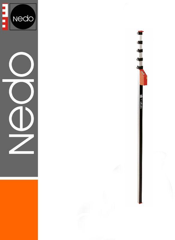 Przymiar teleskopowy 1,20-6,00m mEssfix-S NEDO