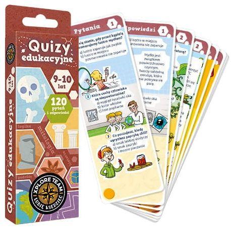Xplore Team Quizy edukacyjne dla dzieci w wieku 9-10 lat
