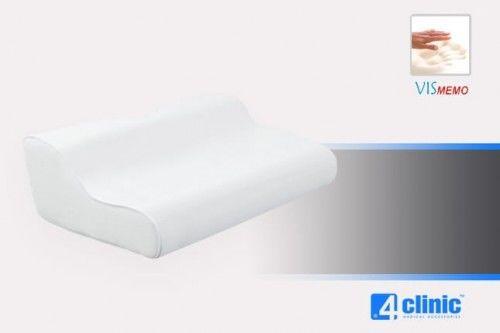 Profilowana Poduszka Ortopedyczna Vismemo Z Wycięciem Na Bark