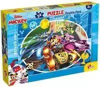 Puzzle dwustronne Myszka Miki 24 - Lisciani