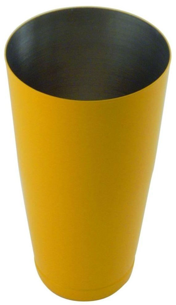Shaker bostoński obciążony żółty