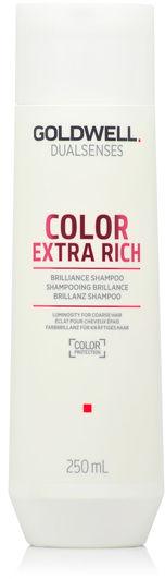 Goldwell Dualsenses Color Extra Rich Szampon zapobiegający blaknięciu koloru do grubych i farbowanych włosów 250 ml